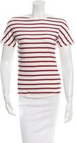 Dolce & Gabbana Striped Short Sleeve Top