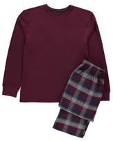 George Checked Jersey Pyjama Gift Set