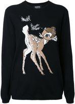Markus Lupfer 'bambi' sequin appliqué pullover