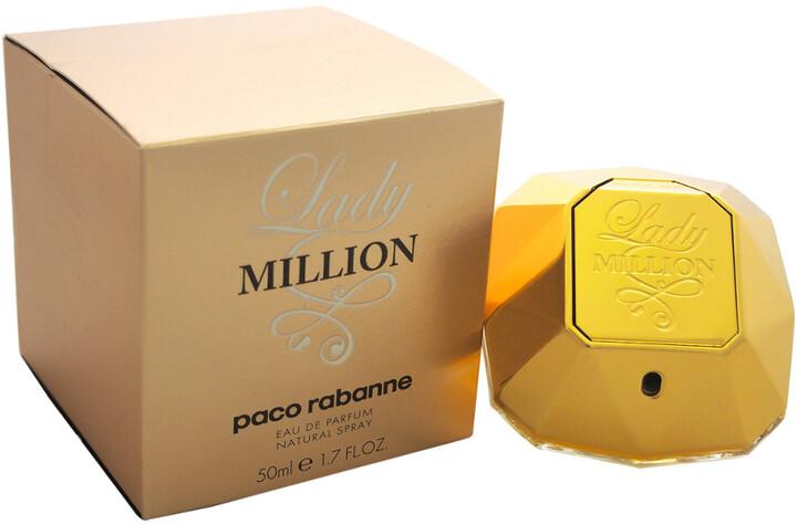 Spray Lady Eau Women's Million De 1 7oz Parfum n0Nwm8