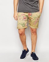 Pepe Jeans Mcqueen Hawaiian Turn Up Shorts