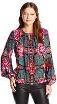Alice & Trixie Women's Ariana Printed Long Sleeve Top