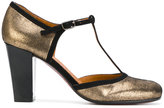 Chie Mihara Anie pumps - women - Leather/Suede/rubber - 36