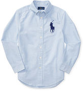 Ralph Lauren 8-20 Cotton Oxford Shirt