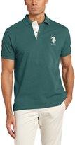 U.S. Polo Assn. Men's Slim Fit Solid Pique Shirt