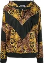 Versace brocade print hoodie