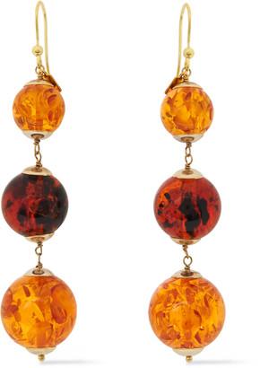 Rosantica Gold-tone Stone Earrings
