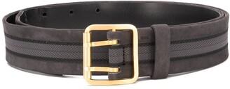 Gianfranco Ferré Pre Owned 1990 Textured Panel Belt
