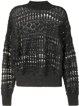 Etoile Isabel Marant Pernille open-knit jumper