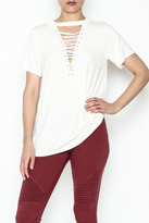 Entro Lace Up Tee