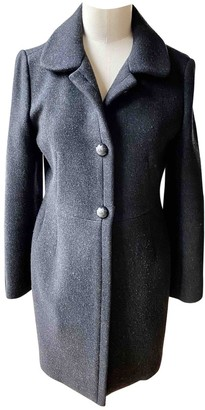 Chloé Black Wool Coat for Women
