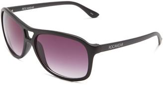 Rocawear Women's R785 MBK Plastic Square Aviator Sunglasses