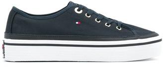 Tommy Hilfiger Flatform Logo Sneakers