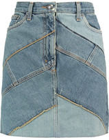 Marc by Marc Jacobs Paneled Denim Mini Skirt