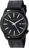 Momentum Men's 1M-SP14B1B Analog Display Japanese Quartz Black Watch