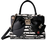 Betsey Johnson Glam Garden Bow Satchel Satchel Handbags