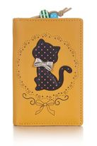 Yumi Spot Cat with Bow Wallet