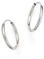 Bloomingdale's 14K White Gold Endless Hoop Earrings - 100% Exclusive