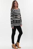 Goddis Ellie Pullover Sweater In Black Forest