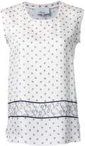 3.1 Phillip Lim printed satin tank top