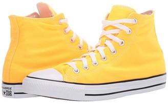 Converse Chuck Taylor All Star Seasonal Color - Hi (Laser Orange) Lace up casual Shoes