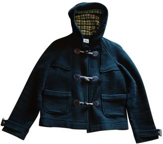 Lacoste Green Wool Coats