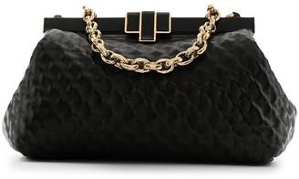 Ermanno Scervino Textured Leather Shoulder Bag