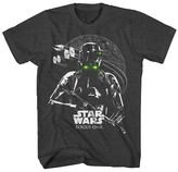 Star Wars Men's Big & Tall Rogue One Death Trooper T-Shirt Charcoal Heather