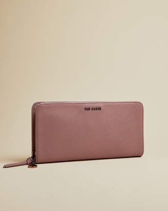 Ted Baker HELOISS Leather zip charm matinee purse