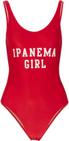 Adriana Degreas Ipanema Girl printed swimsuit