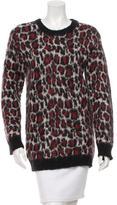 Sandro Cheetah Pattern Sweater