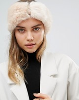 Ted Baker Mini Bow Faux Fur Headband