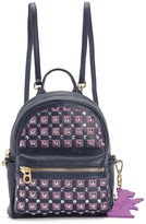 Juicy Couture Solstice Embroidered Leather Mini Backpack