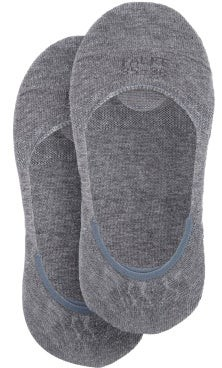 Falke Step Invisible Liner Cotton-blend Socks - Grey