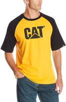 Caterpillar Men's Raglan Trademark Tee