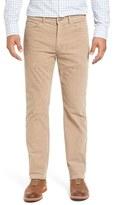 Peter Millar Tailored Straight Leg Stretch Corduroy Pants
