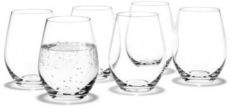 Pottery Barn Holmegaard Cabernet Stemless Wine Glass, Set of 6