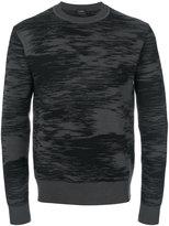 Jil Sander print sweater - men - Virgin Wool - 46