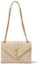 Thumbnail for your product : Saint Laurent Envelope Medium suede shoulder bag