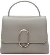 3.1 Phillip Lim Grey Mini Alix Top Handle Satchel