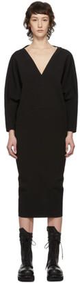 Rick Owens Black Release Dress