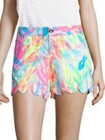 Lilly Pulitzer Vintage Dobby Buttercup Shorts