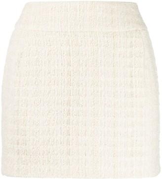 Alexandre Vauthier Tweed Mini Skirt