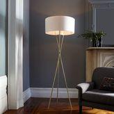 west elm Mid-Century Tripod Floor Lamp - Antique Brass