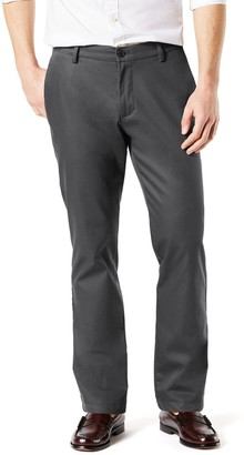 Dockers Men's Signature Khaki Lux Athletic-Fit Stretch Pants