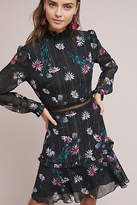 Donna Morgan High-Neck Floral Dress