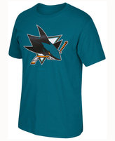 Reebok Men's San Jose Sharks Sweater Emblem T-shirt