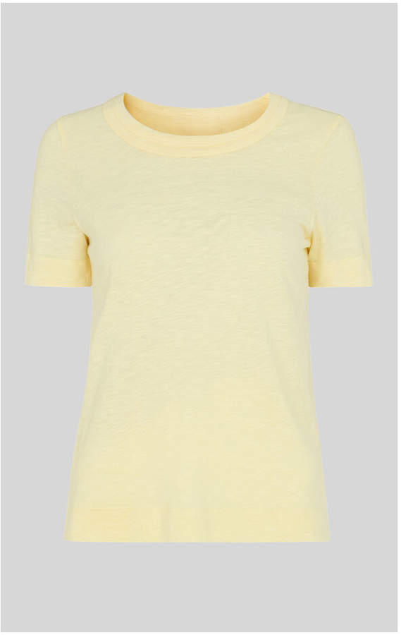 Whistles Rosa Double Trim T-shirt