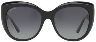 Bvlgari BV8198BF 411585 Polarised Sunglasses