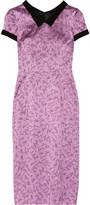 L'Wren Scott Printed stretch-silk dress